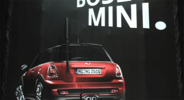 Mini Is Running An Ad Campaign In Hamburg Germany Under The Slogan A Good Takes You To Heaven Bad Everywhere