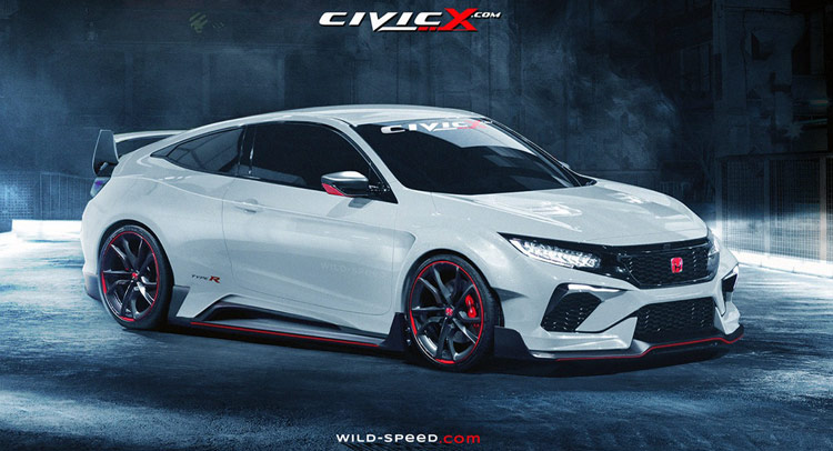 Based On The New Civic Concept It Uses Production Type R Hatchback S Aerodynamic And Styling Upgrades As Reference