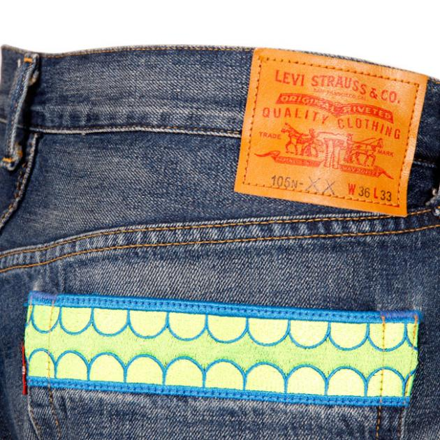 Levi s x OriginalFake Jeans    FOOYOH ENTERTAINMENT ce1bf7d70