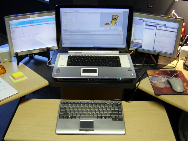 How To Hook Up 2 Monitors To A Laptop - Best Image About Laptop