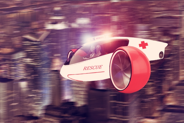 Vehicle Of The Future Hybrid Electric Flying Car Concept Fooyoh Entertainment