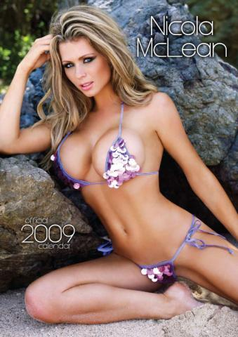 Babe of the month for January Nicola McLean 2009 Calender :: FOOYOH ...