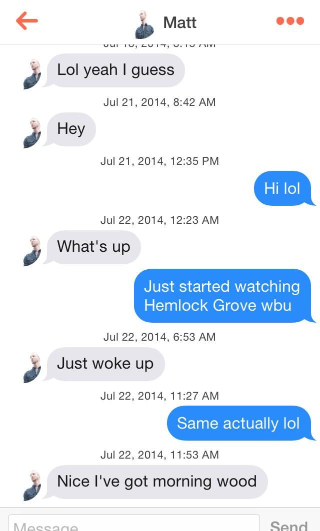 How to have conversation with a guy