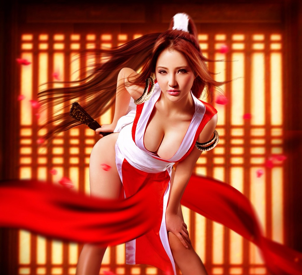 Correctly. King of fighters mai shiranui