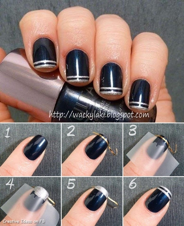 Diy Nail Designs With Tape Best Nail 2018