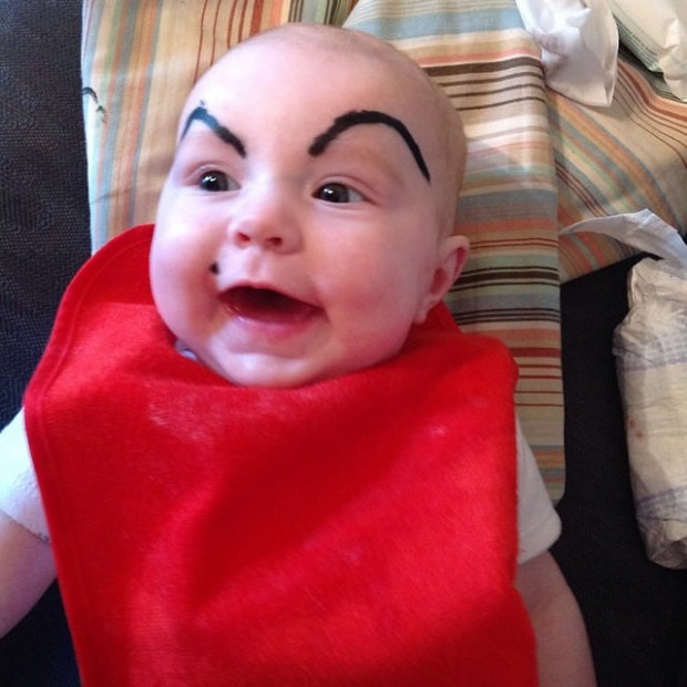 Get Ready To Be Hypnotized By These Babies With Funny Eyebrows