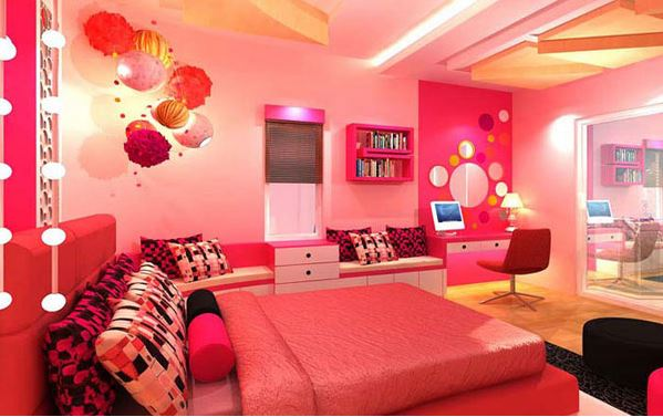 Pink Bedroom girly bedroom jpeg. 16 Girly Bedrooms That Even Grown Women Appreciate    FOOYOH