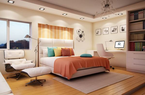 Simple Bedroom For Women