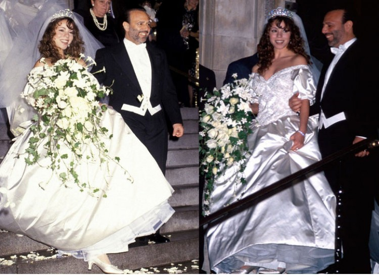 10 Ugliest Celebrities Wedding Dresses :: FOOYOH ENTERTAINMENT