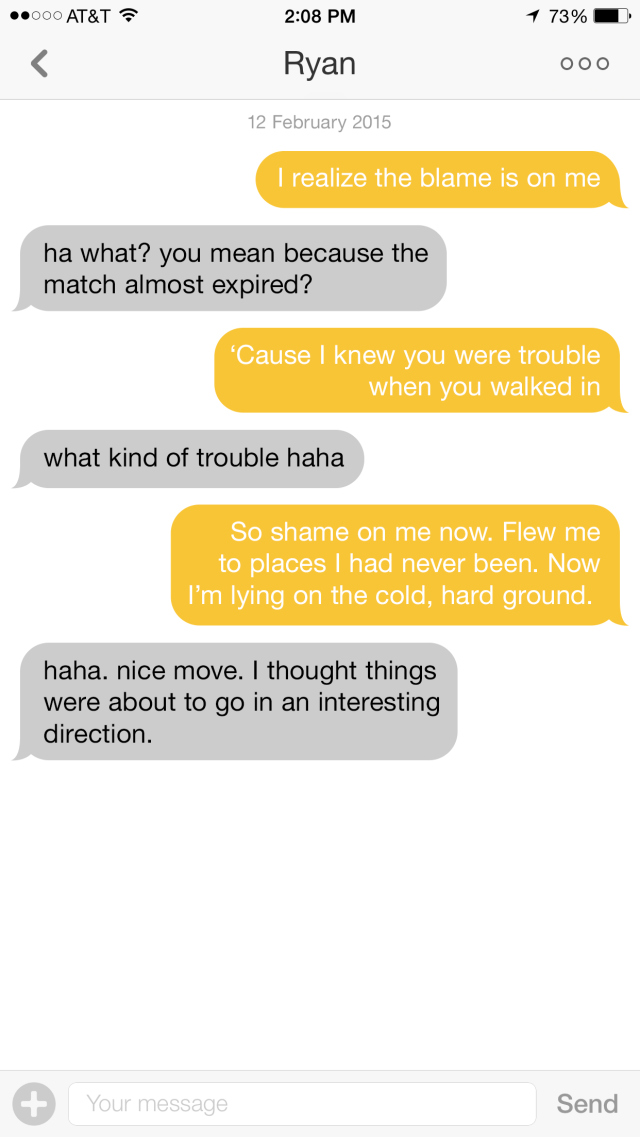 Best way to start a conversation on a dating app