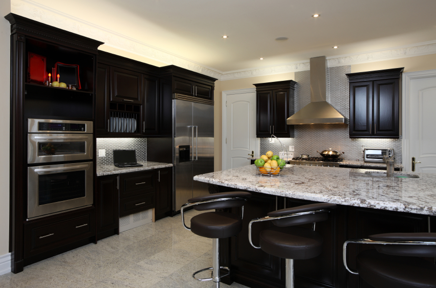 22 Beautiful Dark Kitchen Cabinet Designs Fooyoh Entertainment