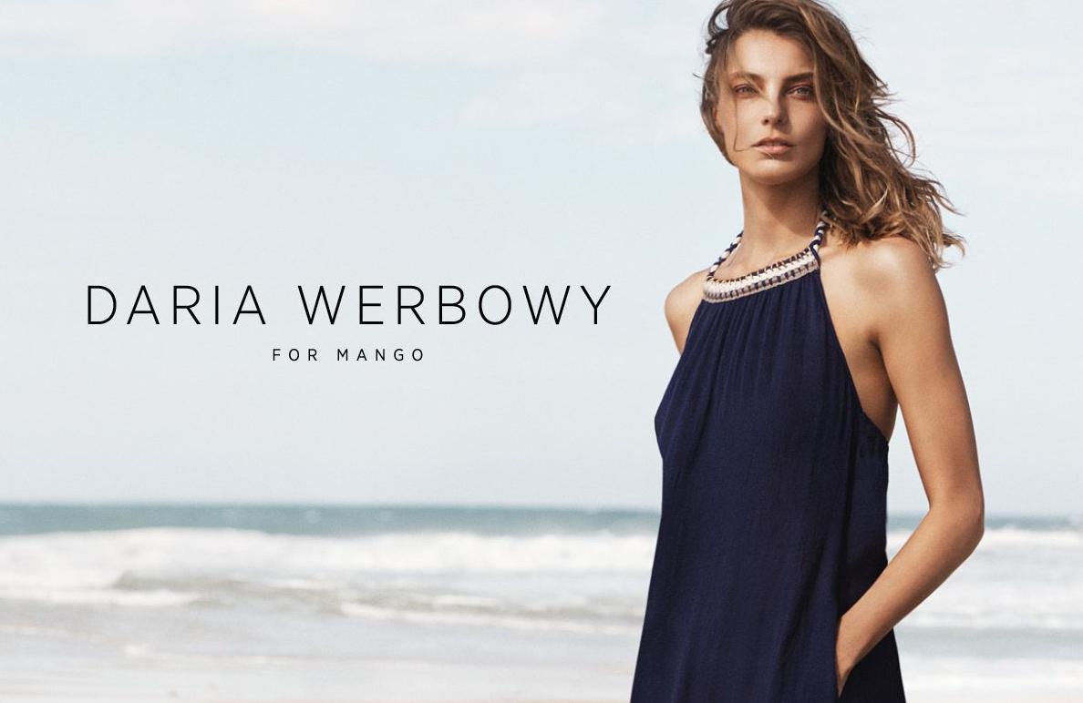 Daria Werbowy for MANGO Summer 2014 :: FOOYOH ENTERTAINMENT
