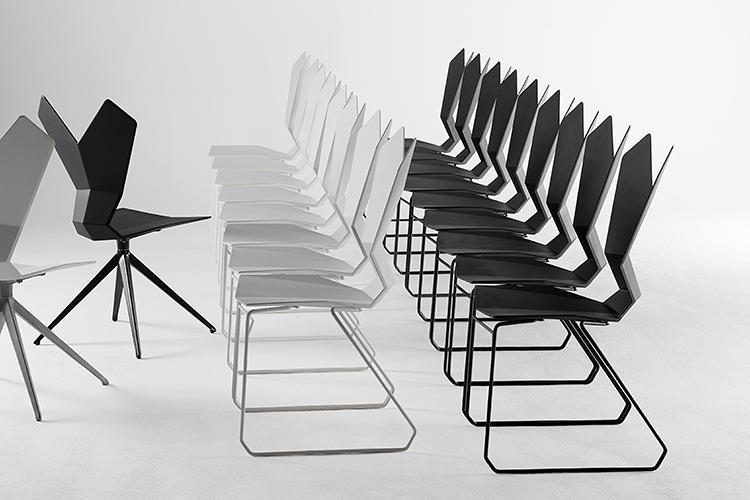 Stackable Office Chairs By Tom Dixon Is Super Y