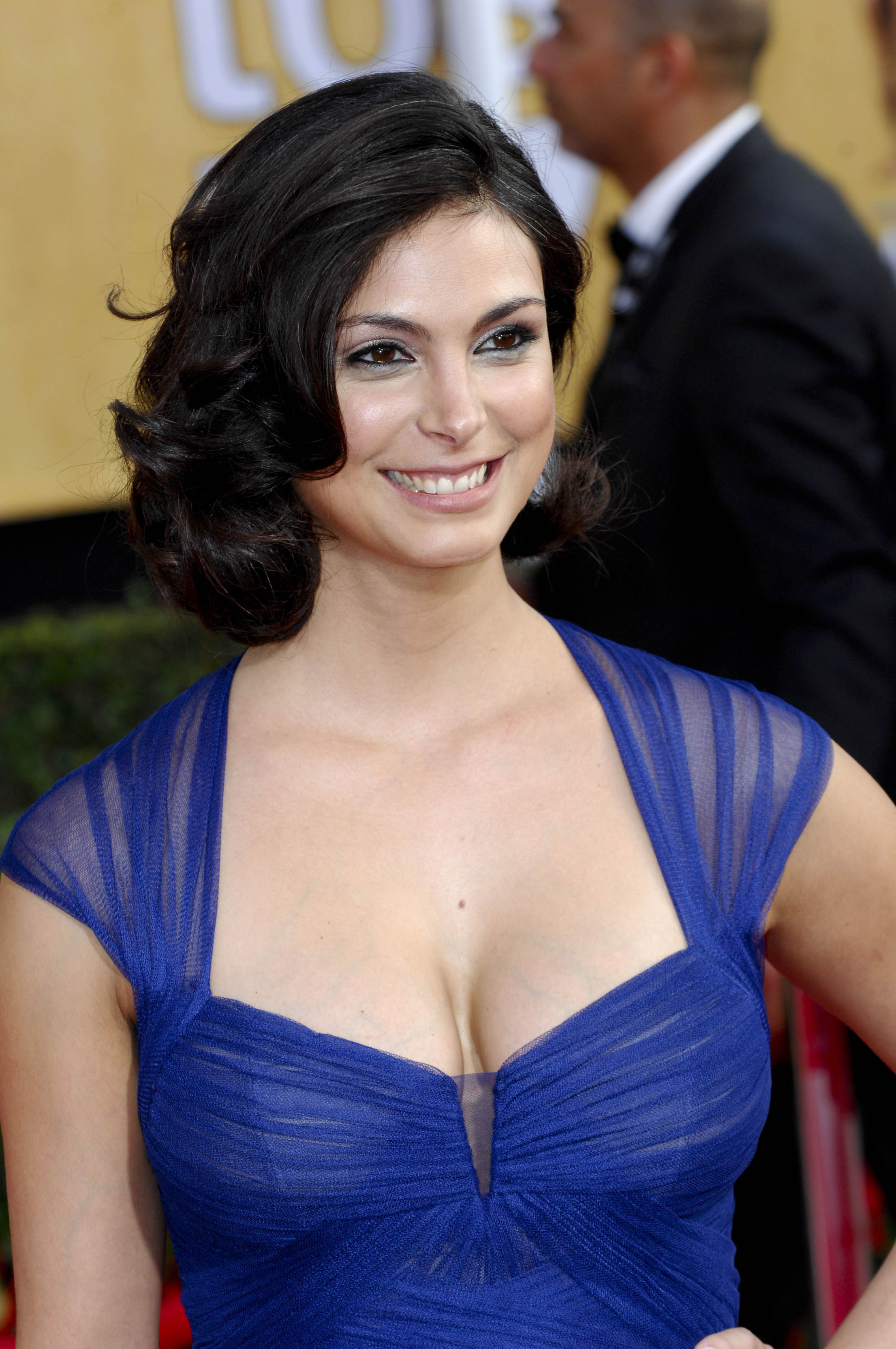 Morena baccarin attends the sag awards