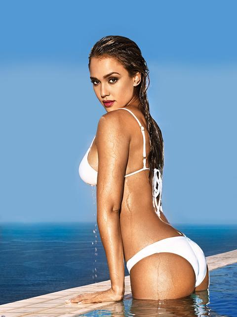 Jessica Alba in a bikini for Entertainment Weekly :: FOOYOH ... Jessica Alba