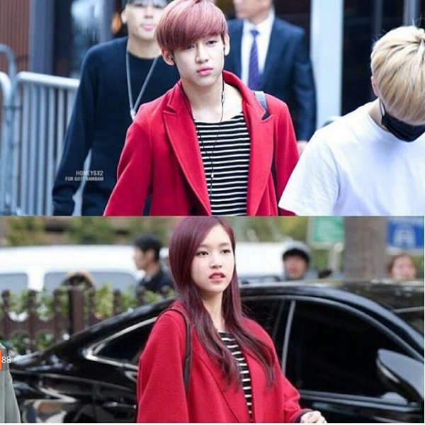 koreaboo pulls out reciepts on mina and bambam s photo celebrity