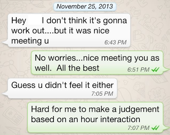 17 Hilarious and Disastrous First Date Texts