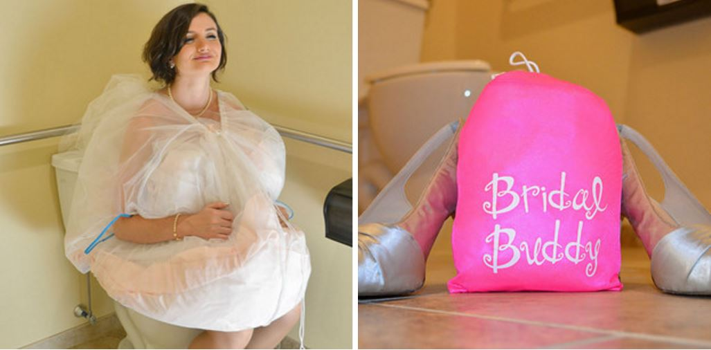 The Bridal Buddy Allows Brides To Do Their Business Without Any Extra Istance