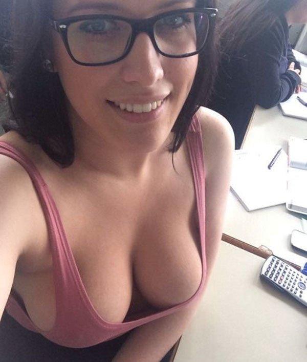 Hot milf glasses