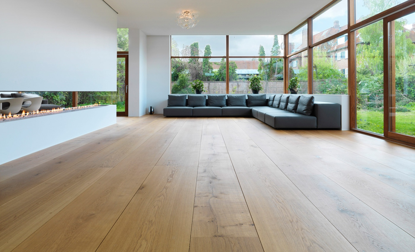 Get to know your hardwood flooring options fooyoh for Industrial flooring for homes